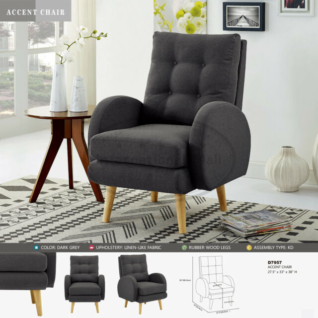 Fine Mid Century Modern Lounge Club Fabric Accent Armchair With Shelter Style Chair Uwap Interior Chair Design Uwaporg