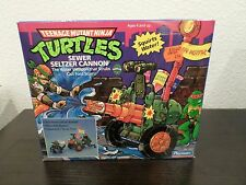 TMNT SEWER SELTZER CANNON MISB UBER RARE TEENAGE MUTANT NINJA TURTLES PLAYMATES