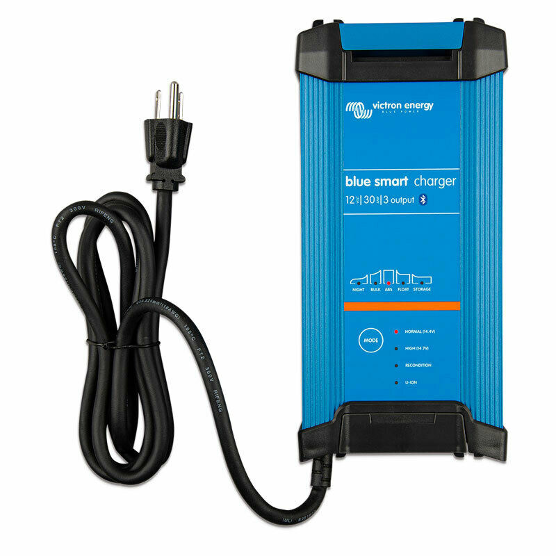 VICTRON Blue Smart 12V 30A (3) Bluetooth Charger Waterproof IP22