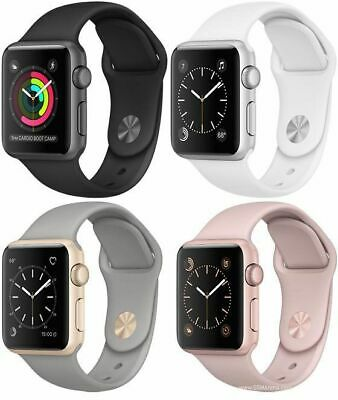 Apple Watch Series 3 38mm Gps Gps Cellular Space Gray Silver Gold Rose Gold Ebay