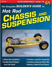 The Complete Builder's Guide to Hot Rod Chassis & Suspension Book-BRAND NEW! asc