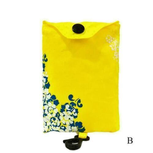 Wiederverwendbare faltbare Einkaufstasche Eco-Tote Tartan Heiß Flora Handta P9K6
