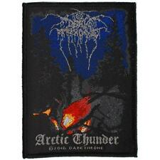 OFFICIAL LICENSED - DARKTHRONE - ARCTIC THUNDER SEW ON PATCH BLACK DEATH METAL