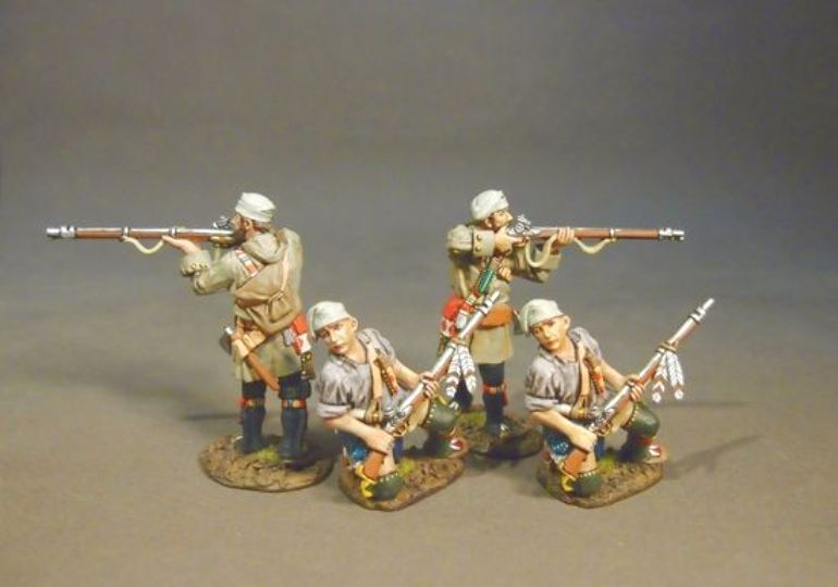 JOHN JENKINS RAID ON ST. FRANCIS MF-06WN FRENCH TROIS RIVIERES BRIGADE MIB