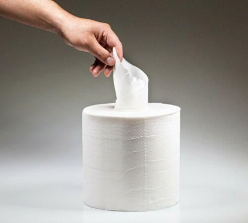 20cm Spenderollen Papierhandtücher 6 Rollen Handtuchrollen Midi