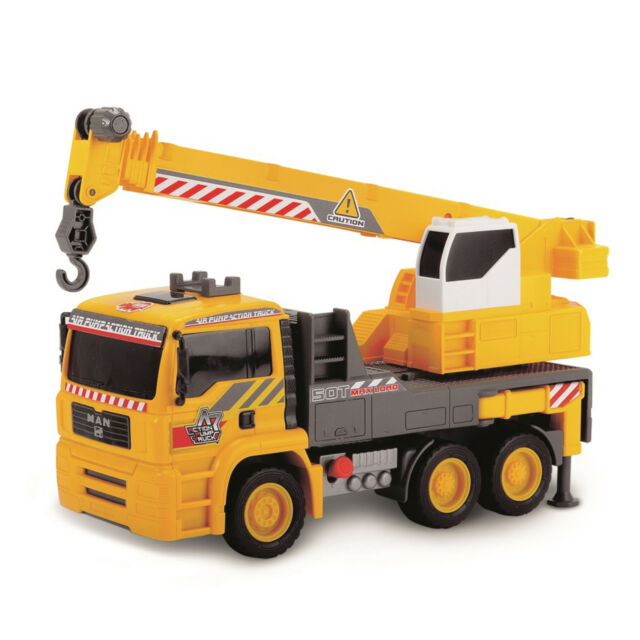 Crane Truck For Sale >> Dickie Toys 12 Inch Air Pump Action Mobile Crane Truck For Sale