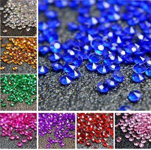 6000-Mixte-Fete-De-Mariage-Scatter-Table-Cristal-Diamant-Confettis-Paillettes-Perles