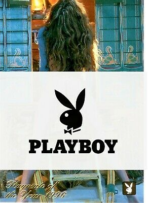 1996 PLAYBOY TRADING CARD JULY EDITION PLAYMATE OF THE YEAR STACY SANCHES 2PY