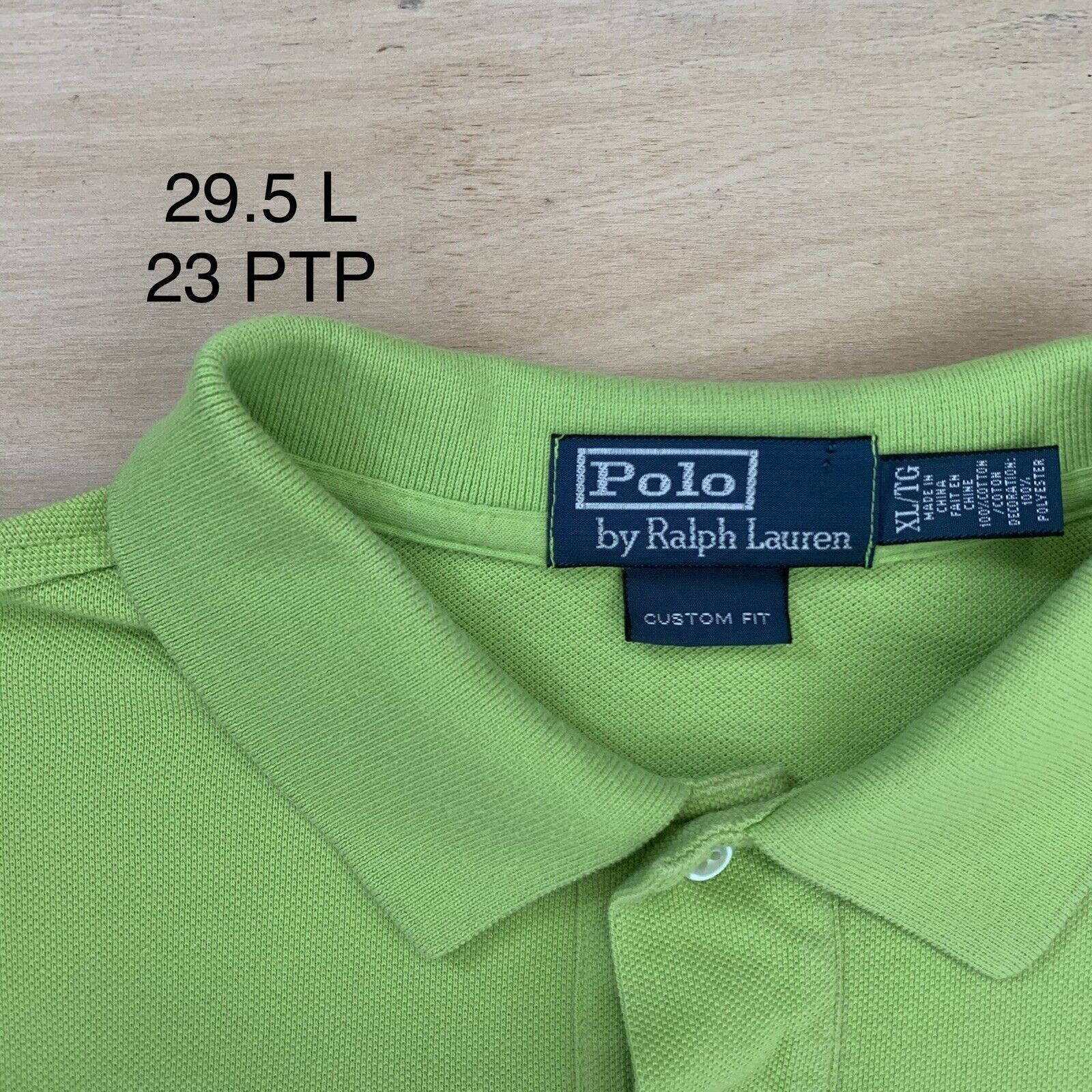 Vintage Polo Ralph Lauren France Rugby Shirt XL G… - image 4