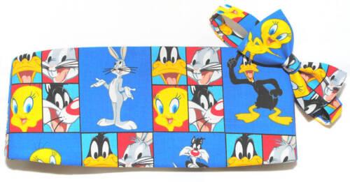 Daffy Duck and Friends Cummerbund and Bowtie Set