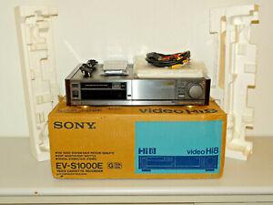 Sony EV-S1000 High-End Hi8 Videorecorder, OVP w.NEU / FB&BDA, 2 Jahre Garantie