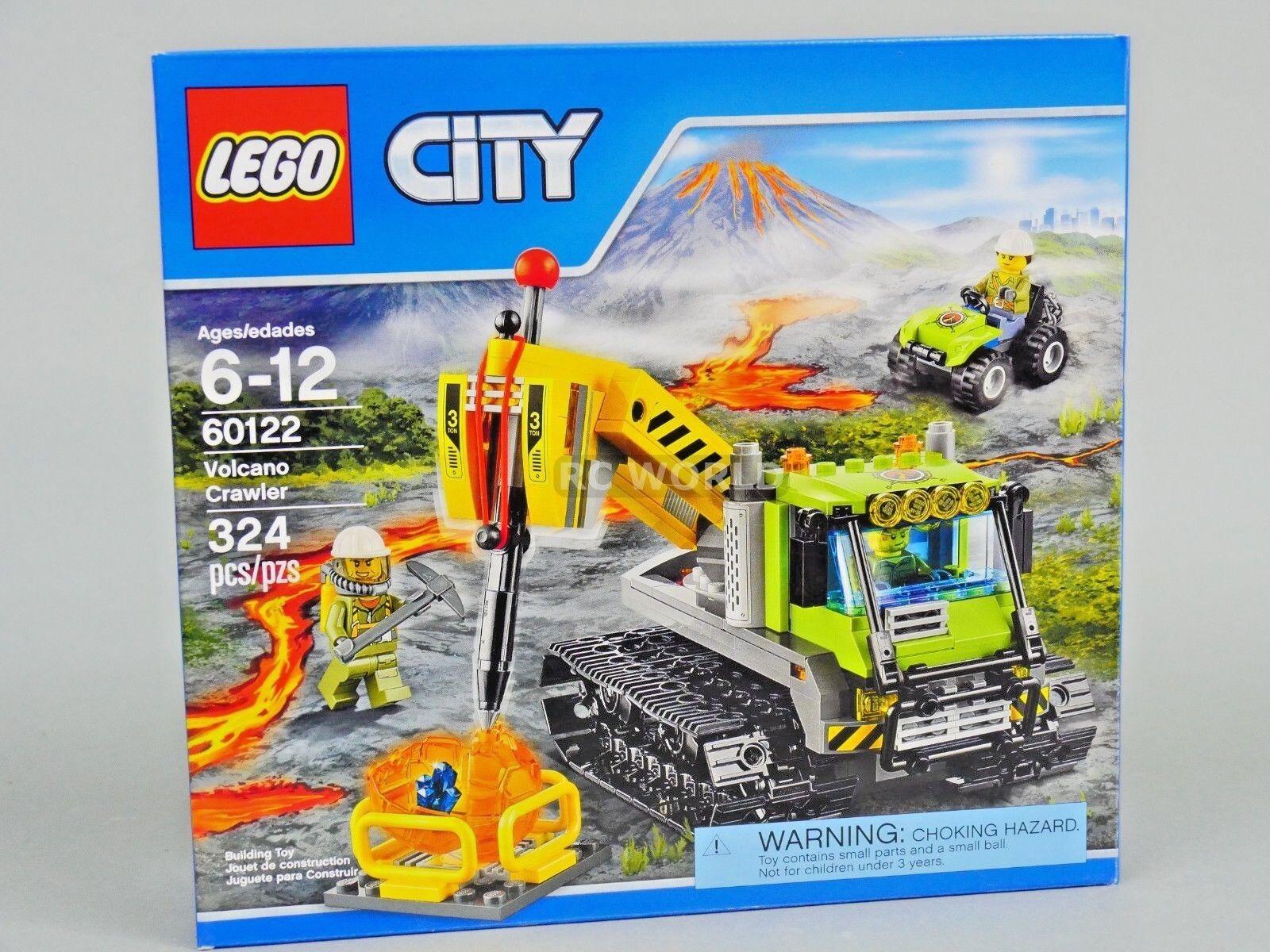 Lego Città Vulcano Explorers Vulcano Cingolato 60122  oob3 oob3 oob3 99dba1