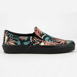 huge inventory 24a7b 26b8b Details about VANS California Floral Hawaiian Classic Slip-On Shoes Womens  5.5 Men's 4