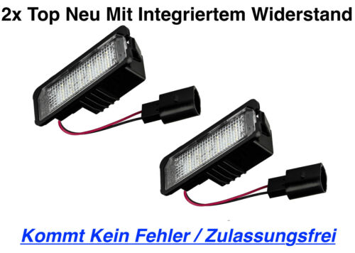 X18 2x TOP Qualität LED Kennzeichenbeleuchtung VW Crafter Kasten SY ab Bj 2017