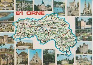 (61) ORNE d'après carte Michelin N°989
