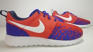 SCARPE N 38 UK 5 NIKE ROSHE ONE PRINT GS SNEAKERS BASSE ART 677782 601