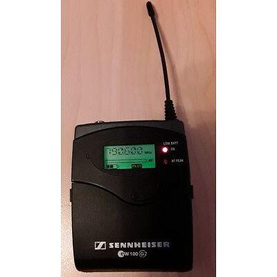 Sennheiser SK 100   ew 100 G2 / Bodypack Transmitter / 786 - 822 MHz