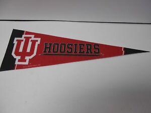 "Indiana Hoosiers 12/"" X 30/"" Basketball Pennant"