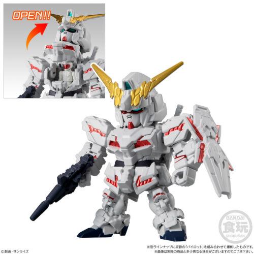 "Mobile Suit Gundam Micro Wars 4 /"" 01 Unicorn Gundam /"" Action Figure BANDAI Japan"
