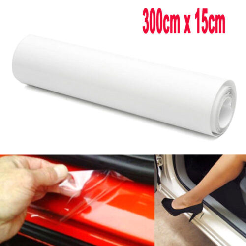 15X300cm Car Door Sill Edge Paint Clear Protection Scratches Vinyl Film Sticker