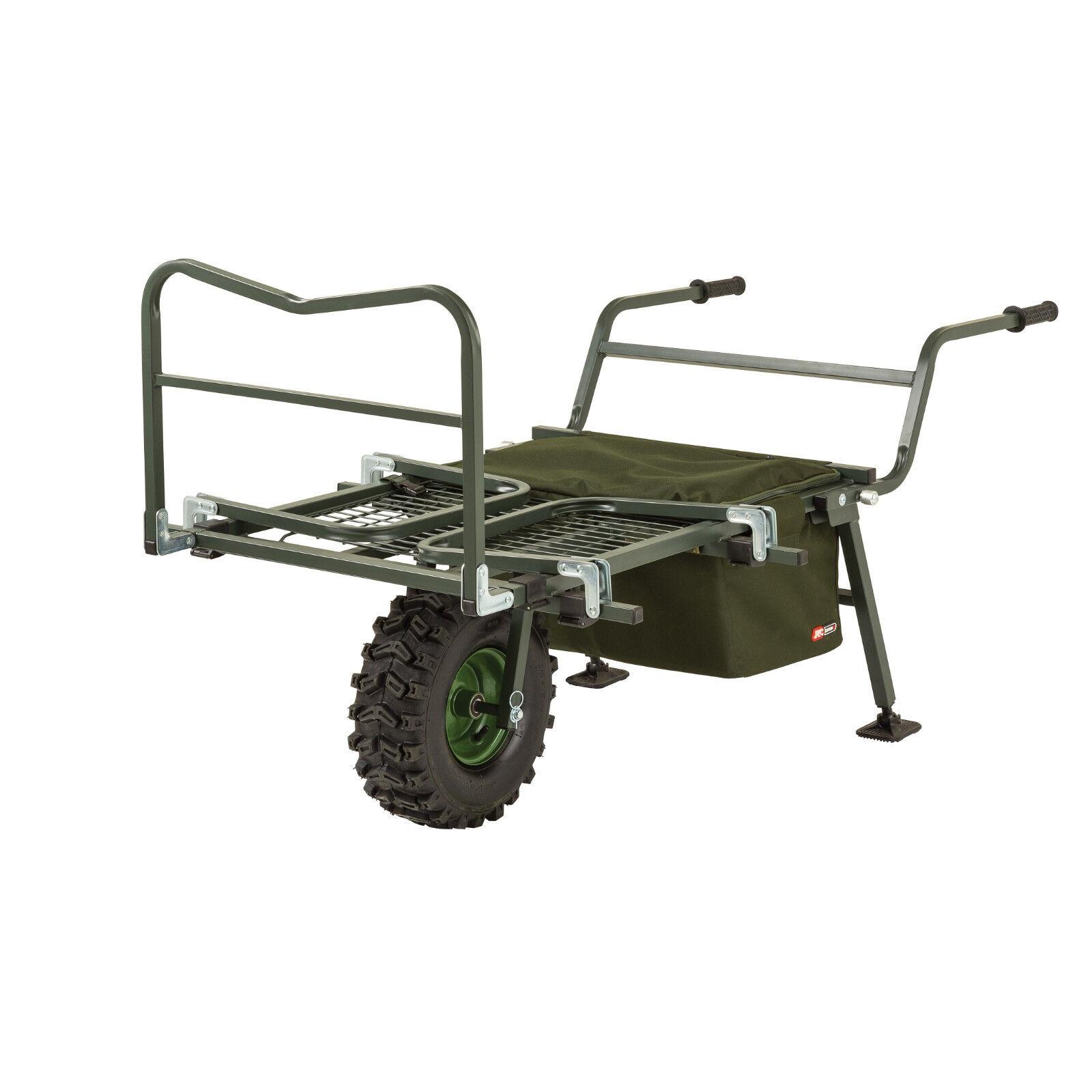 JRC Cocoon 2 Barrow Wide Wheel 1485790 Tacklekarre Trolley Transportwagen