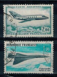 timbres-France-P-A-n-42-43-obliteres-annees-1965-et-1969