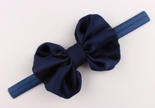 Baby Girls Butterfly Style Bow Hairband Headband Stretch Head Wrap Hair Band