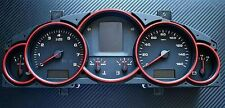 Porsche Cayenne 955 957 Turbo S WLS GTS V6 VR6 alu trim interni tacho ring red