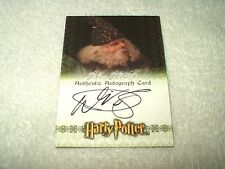 Harry Potter Autograph Card Warwick Davis as Filius Flitwick