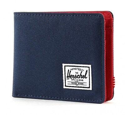 Acquista A Buon Mercato Herschel Roy Plus Coin Rfid Wallet Portafoglio Navy/red Blu Rosso Nuovo-mostra Il Titolo Originale