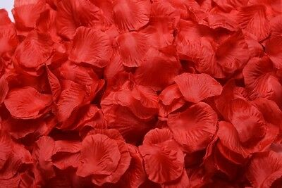 1000pcs Various Colors Silk Flower Rose Petals Wedding Party Decorations FOR US