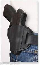 Black Leather Belt Slide for Springfield 1911 RH Pro-Tech OWB Holster PTBS-MB