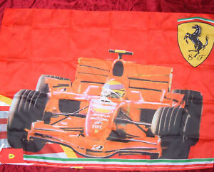ferrari drapeau grand formule 1 f1 voiture de course original neuf en paquet ebay. Black Bedroom Furniture Sets. Home Design Ideas