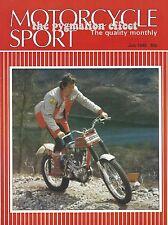 Motorcycle Sport July 1985 Kawasaki KLR250 249cc Four-stroke DOHC 4-valve single