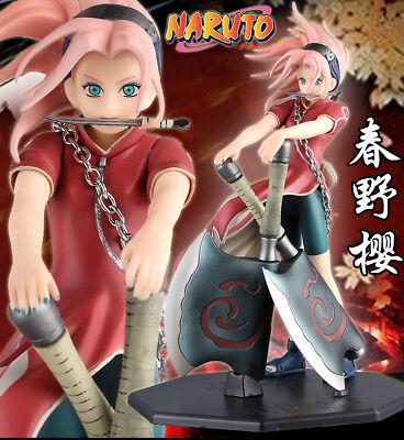 Nendoroid 833 Naruto Sakura Haruno Action Figure Collection Model Gift Toys X833