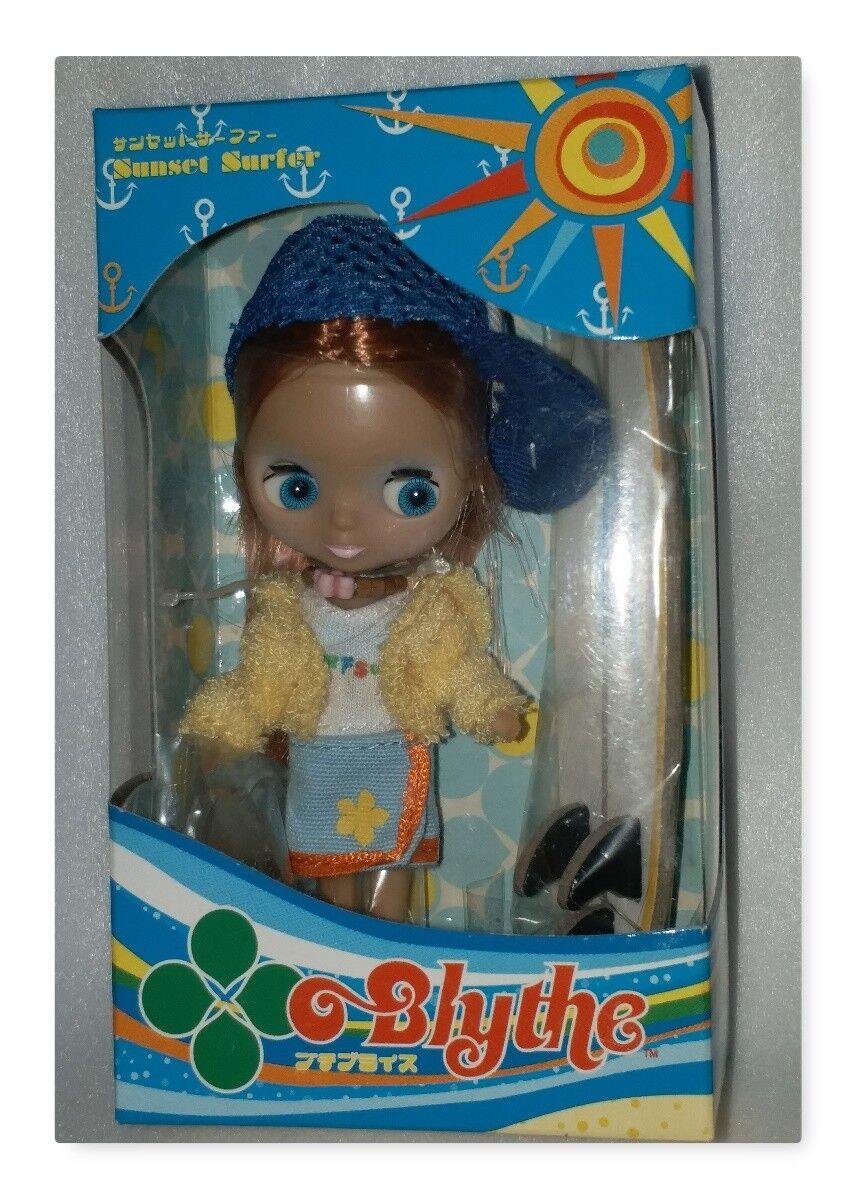Takara Blythe Sunset Surfer 2004 Doll Girl Figur begränsad Version Mycket RARE