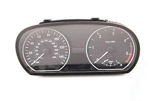 BMW-1er-E81-E83-E87-Diesel-UK-mpH-Meilen-Tacho-Tachometer-Kombiinstrument-MFA