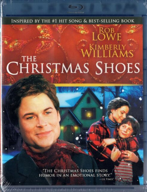 The Christmas Shoes (Blu-ray Disc, 2011) Rob Lowe, Kimberly Williams  BRAND NEW