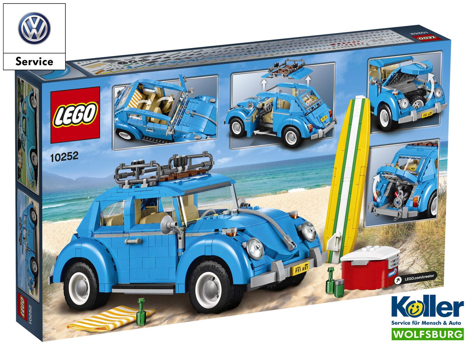 ORIGINALE VOLKSWAGEN Lego 1960 MAGGIOLINO Bauset blu giocattolo