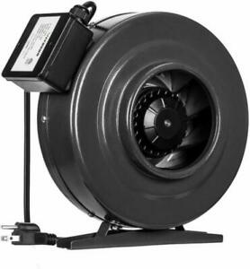VIVOSUN 6 Inch 440 CFM Inline Duct Fan Vent Blower ...