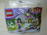 Lego Friends Polybag 30106 Emma with Ice Cream Cart Stand - 673419188777 Toys