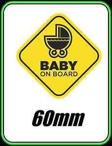 BABY-ON-BOARD-WINDOW-CAR-BUMPER-STICKER-KIDS-FAMILY-WARNING-CHILD-SAFETY-60mm