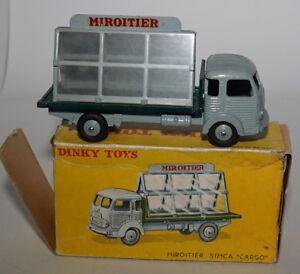 French Dinky 33d Miroitier Van Cargo Glazier's Dans sa boîte d'origine - Nr Mint