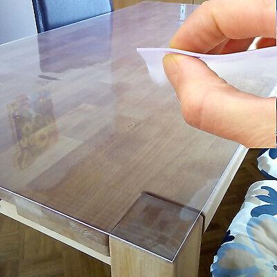 70cm Wide Tablecloth Table foil Protective film Folie 2mm transparent