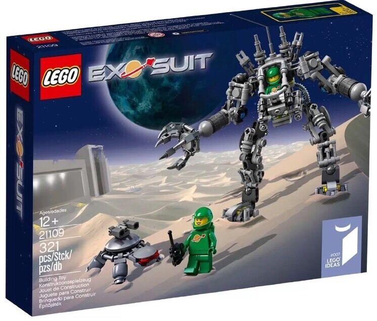 LEGO 21109 Exo Suit Lego   007 Lego Ideas nuovo Factory Sealed gratuito Fast Shipping