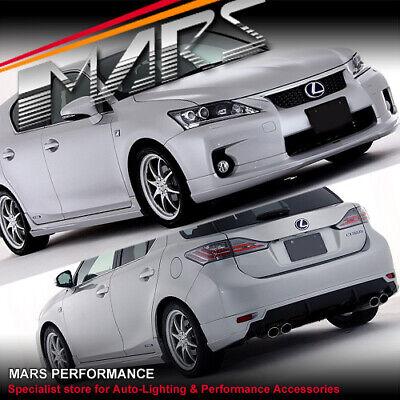 Lexus CT200H TOM Style PU Front Body Bumper Lip Spoiler
