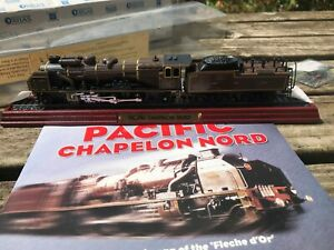 Atlas Editions Pacific Chapelon Nord Collectable Model Train Soyez Amical Lors De L'Utilisation