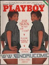 PLAYBOY 1976 JANE BIRKIN DEBRA PETERSON MARILYN CHAMBERS ENRICA BONACCORTI