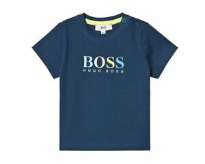 642dc7478de Hugo Boss Baby s J05717 868 Cotton T-Shirt Blue Baby Boy s Top