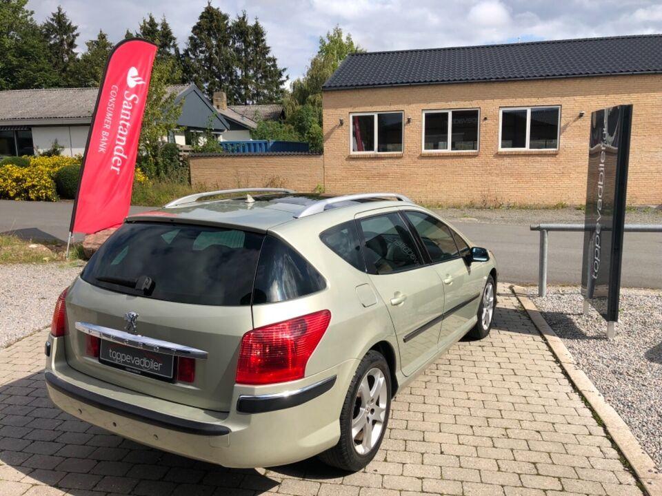 Peugeot 407 3,0 V6 ST stc. aut. Benzin aut. Automatgear
